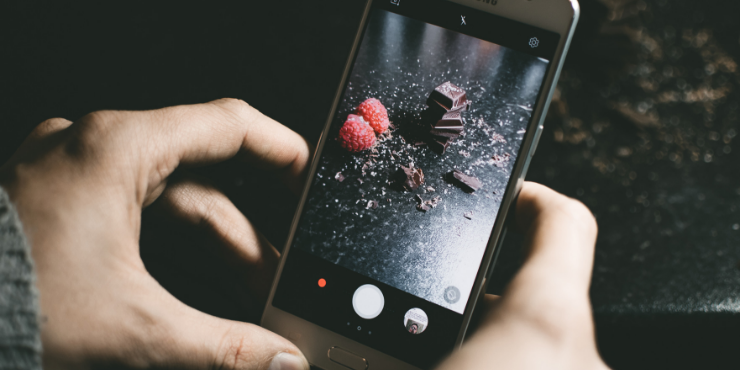 Tips for better chocolate photography for social media