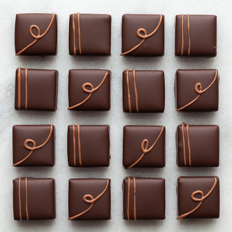 Focus on chocolate flavor
