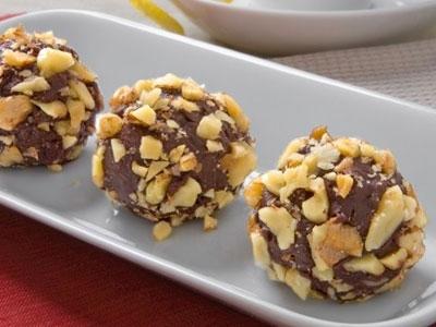 Walnut Cranberry Chocolate Truffle