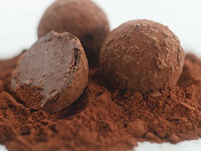 Irish Whiskey Chocolate Truffle