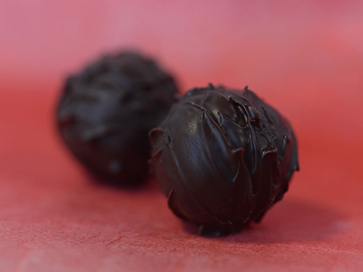 strawberry balsamic chocolates