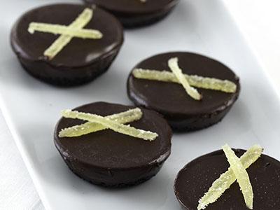 Ginger Chocolate Tart Truffles