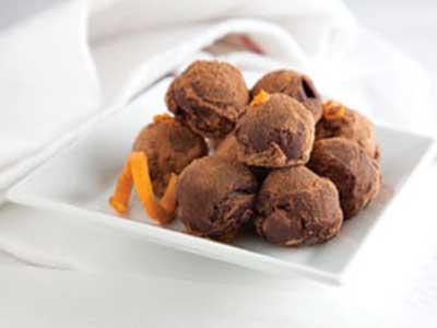 Chocolate Arbequina Truffles