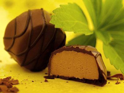 Milk Chocolate and Bourbon Truffles