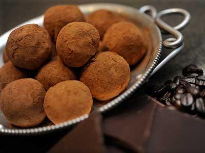 Coffee Fanatic Chocolate Truffles